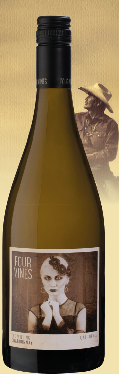 Four Vines Chardonnay The Willing 2019, Californien